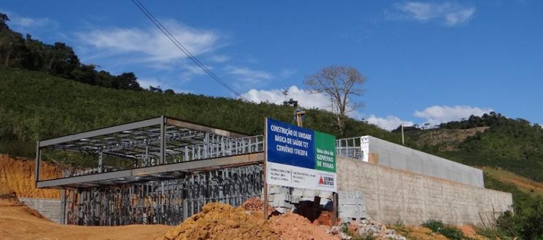 Prefeitura de Simonésia segue construção de UBS em estilo Steel Frame