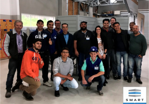 67º Curso Construindo em Light Steel Framing.