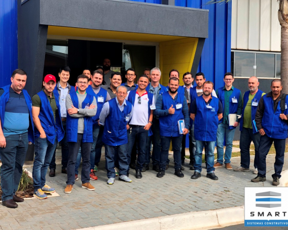 73º Curso Construindo em Light Steel Framing.